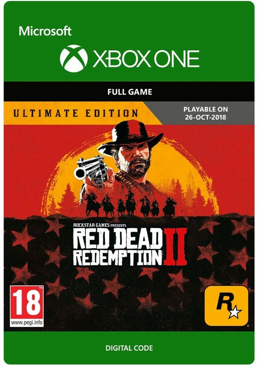 Red Dead Redemption 2: Ultimate Edition (Xbox ONE) - elektronicky