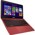 ASUS X205TA-BING-FD027BS, červená