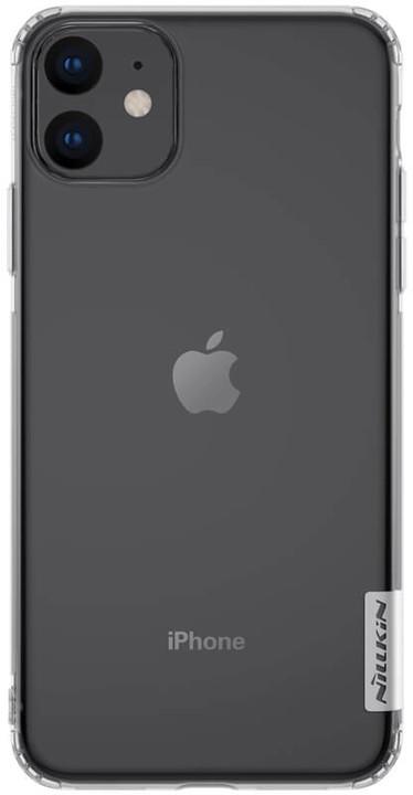 Nillkin Nature TPU pouzdro pro iPhone 11, transparentní