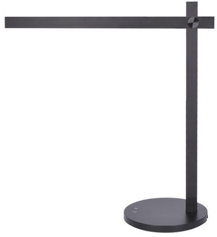 Solight LED stmívatelná lampička 8W, 420lm, volitelná barva světla, černá