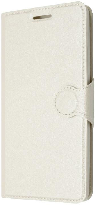 FIXED flipové pouzdro pro Lenovo A6000, bílá