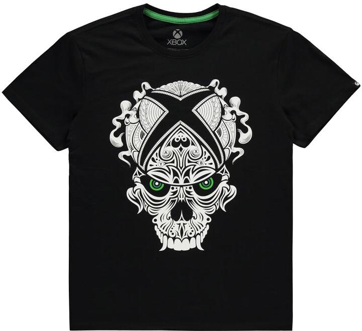 Tričko Xbox - Skull Logo (L)