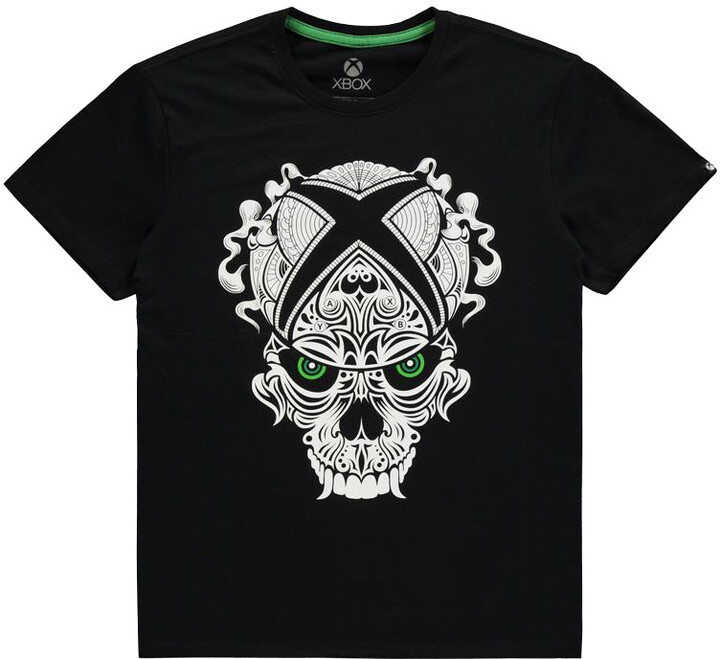 Tričko Xbox - Skull Logo (XL)