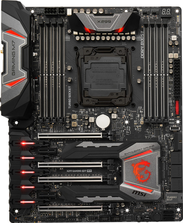 MSI X299 GAMING M7 ACK - Intel X299