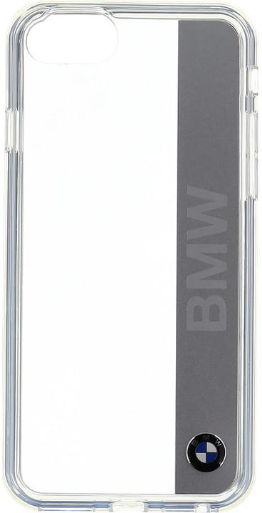 BMW Signature Alu Silver zadní kryt pro iPhone 7/8