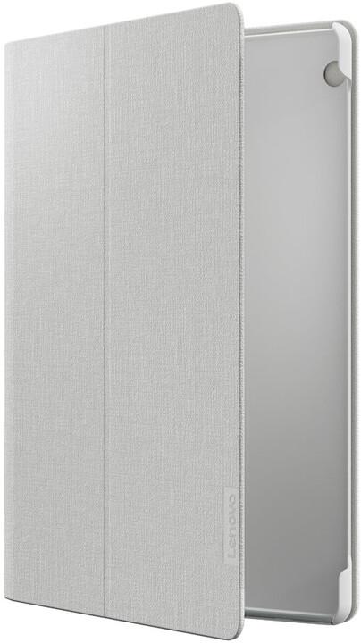 Lenovo TAB P10 pouzdro + fólie na display, bílá