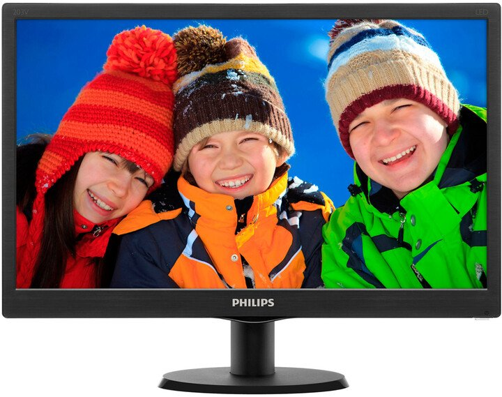 Philips 203V5LSB26 - LED monitor 20""