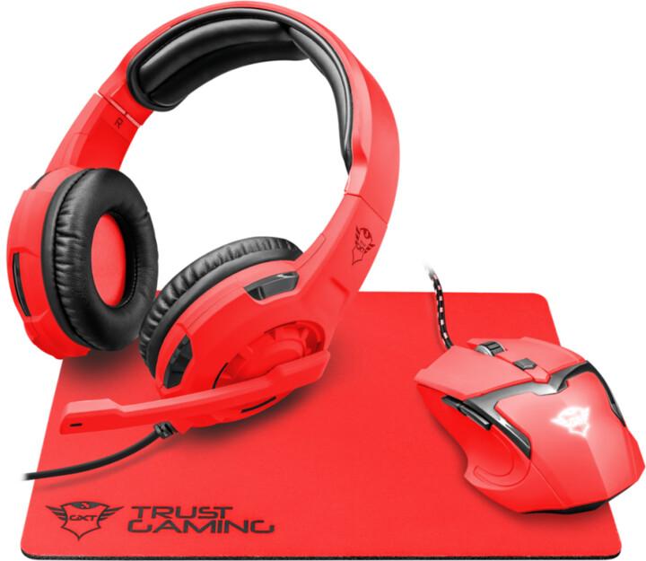 Trust GXT 790-SR Spectra set, červená