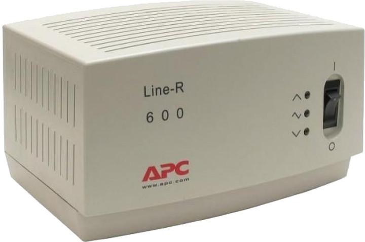 APC Line-R 600VA, Automatický regulátor napětí