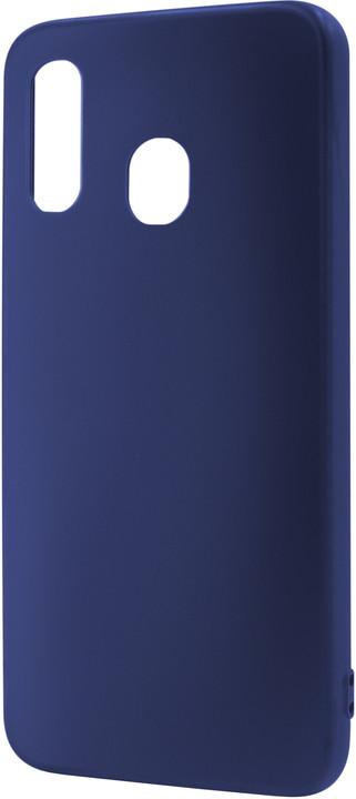 EPICO SILK MATT Case pro Samsung Galaxy A20e, tmavě modrá