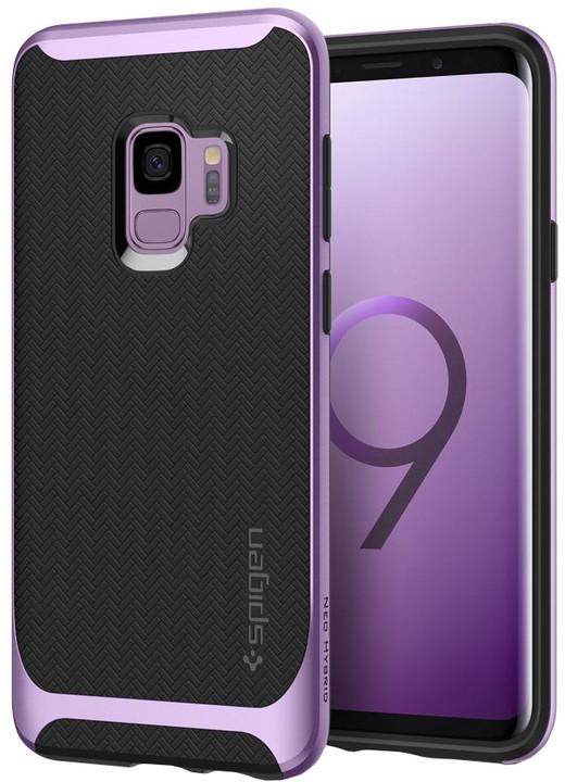 Spigen Neo Hybrid pro Samsung Galaxy S9, lilac purple