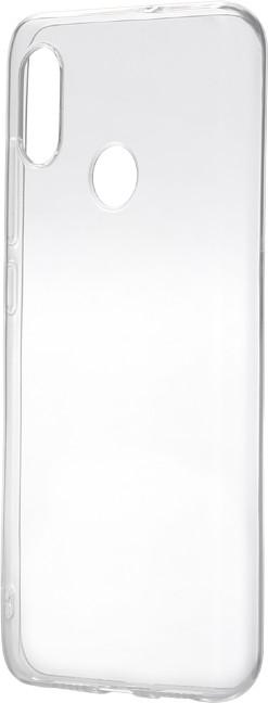 Epico Pružný plastový kryt pro Xiaomi Mi 8 RONNY GLOSS, bílý transparentní