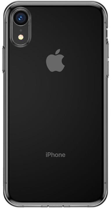 Baseus pouzdro Simple Series pro iPhone XR, transparentní černá