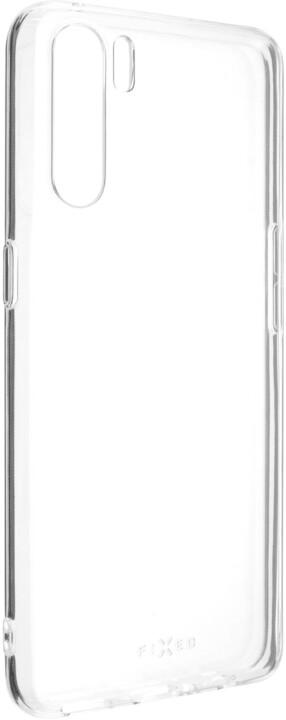 FIXED TPU gelové pouzdro pro Oppo A91, čirá