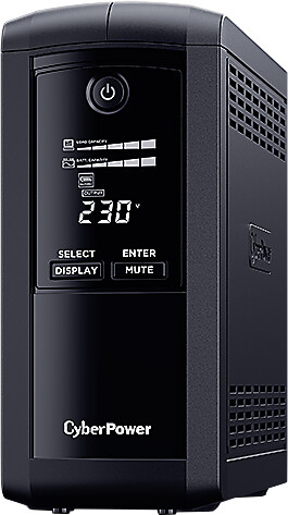 CyberPower Value Pro GreenPower UPS 1000VA / 550W FR