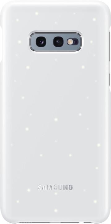 Samsung LED zadní kryt pro Samsung G970 Galaxy S10e, bílá