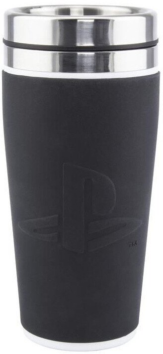 Hrnek PlayStation - Logo, cestovní, 415ml