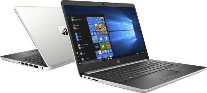 HP 14 (14-dk0003nc), stříbrná