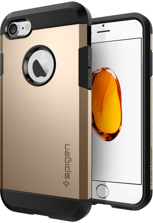 Spigen Tough Armor pro iPhone 7/8, champagne gold