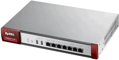 Zyxel ZyWALL 110 Ultraspeed VPN Firewall