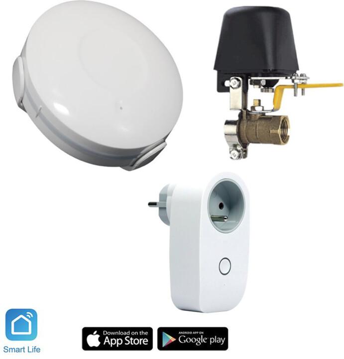 iQtech SmartLife startovací sada Vodník pro hlídání úniku vody