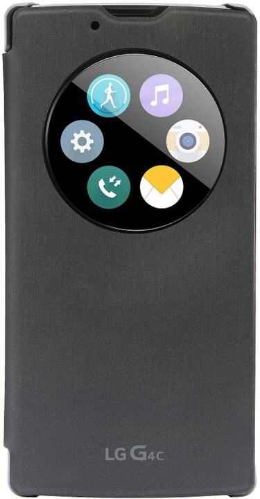 LG QuickCircle pouzdro CCF-600 pro LG G4c, černá