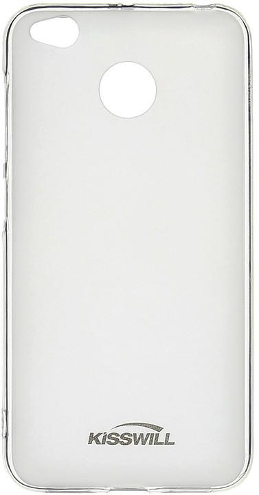 Kisswill TPU pouzdro pro Xiaomi Redmi 4X, transparentní