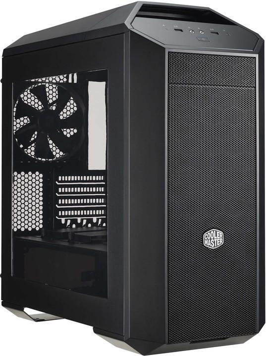 CoolerMaster MasterCase Pro 3, okno, černá