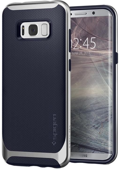 Spigen Neo Hybrid pro Samsung Galaxy S8+, silver arctic