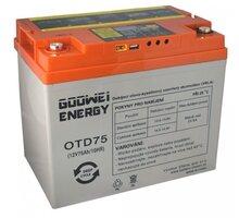GOOWEI ENERGY OTD75 - VRLA GEL, 12V, 75Ah