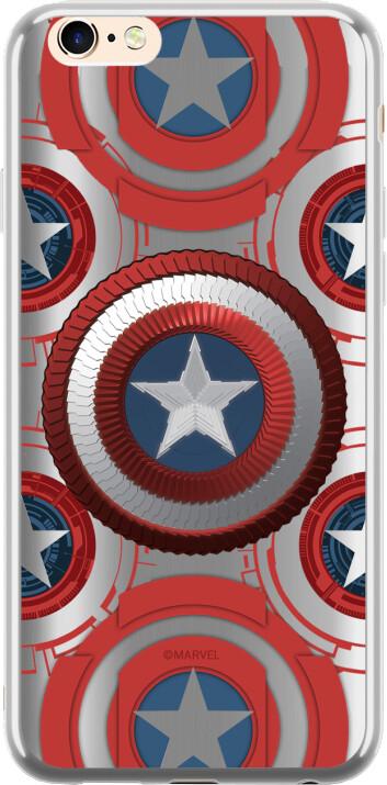 MARVEL Captain America 014 zadní kryt pro Huawei Mate 20 Lite, stříbrná