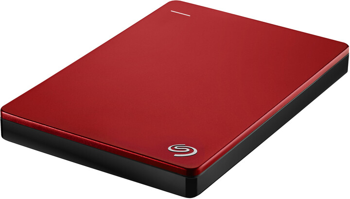 Seagate BackUp Plus Slim Portable 1TB, červená