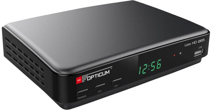 Opticum Lion HD 265 Plus, DVB-T2
