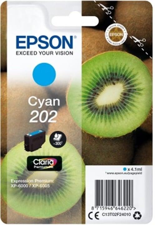 Epson C13T02F24010, 202 claria cyan