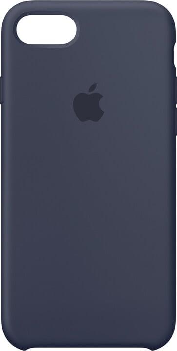 Apple Silikonový kryt na iPhone 7 8 – půlnočně modrý MMWK2ZM A  9ce740da317