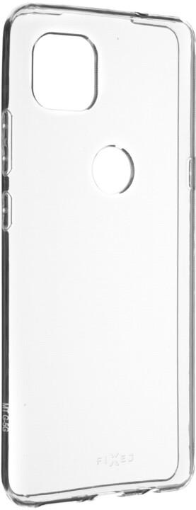 FIXED gelové pouzdro pro Motorola Moto G (5G), transparentní