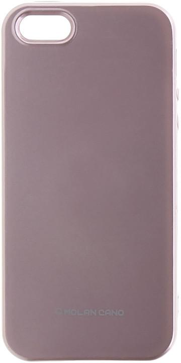 Molan Cano Jelly TPU Pouzdro pro Huawei P Smart, růžově zlatá