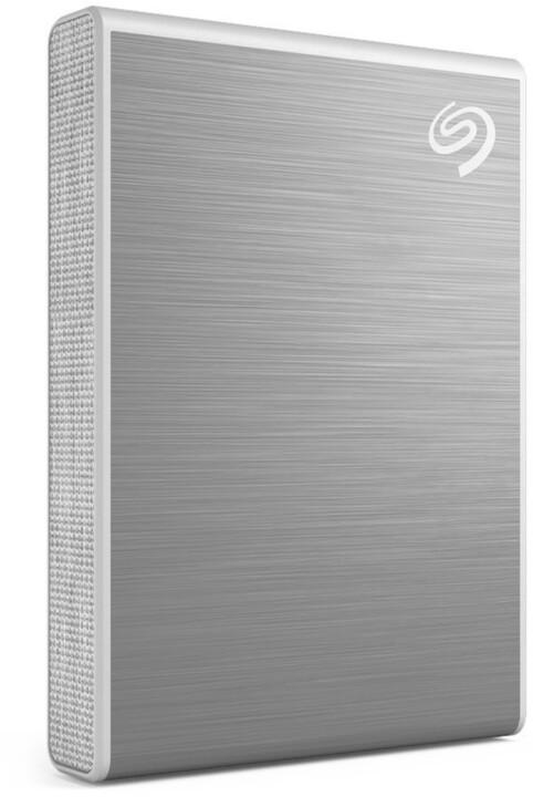 Seagate One Touch - 2TB, stříbrná