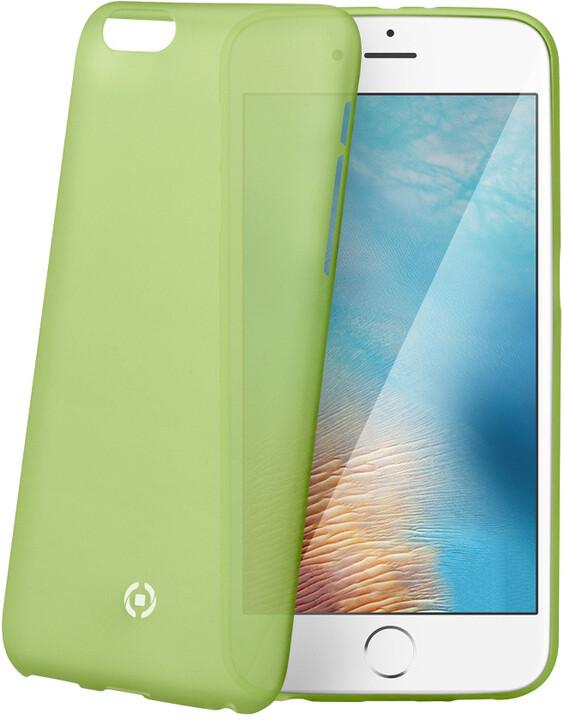 CELLY Frost pouzdro pro Apple iPhone 7 Plus, 0,29 mm, zelená