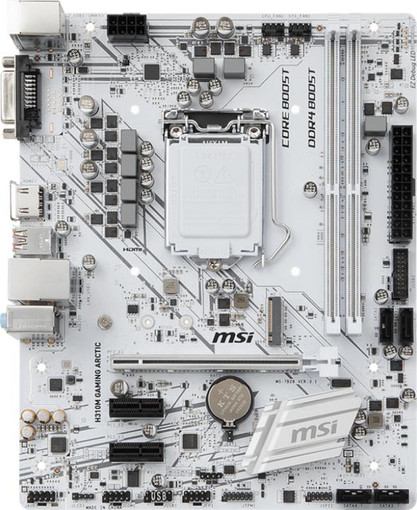 MSI H310M GAMING ARCTIC - Intel H310
