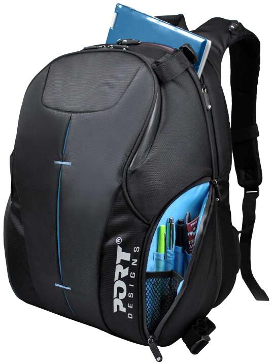 """Port Designs HELSINKI batoh na 15,6"""" notebook/zrcadlovka, černá"""