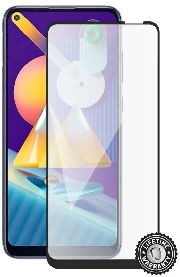 Screenshield ochrana displeje Tempered Glass pro Samsung Galaxy M11, full cover, černá