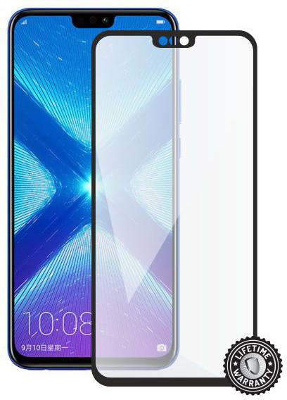 Screenshield ochrana displeje Tempered Glass pro Honor 8X (full cover), černá