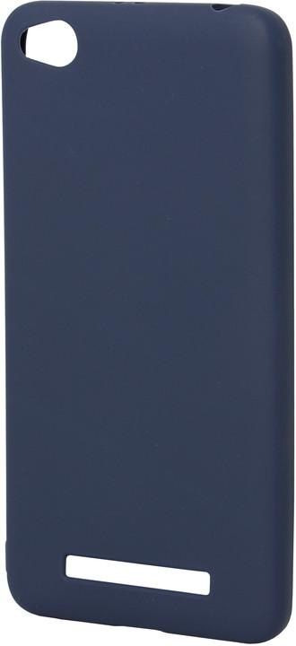 EPICO pružný plastový kryt pro Xiaomi Redmi 4A SILK MATT - tmavě modrý