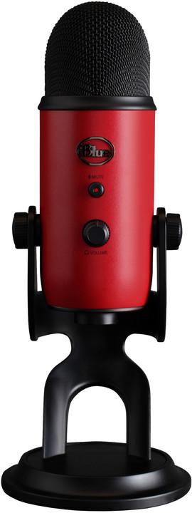 Blue Microphones Yeti, červený