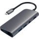 Satechi Type-C Multimedia Adapter, šedá