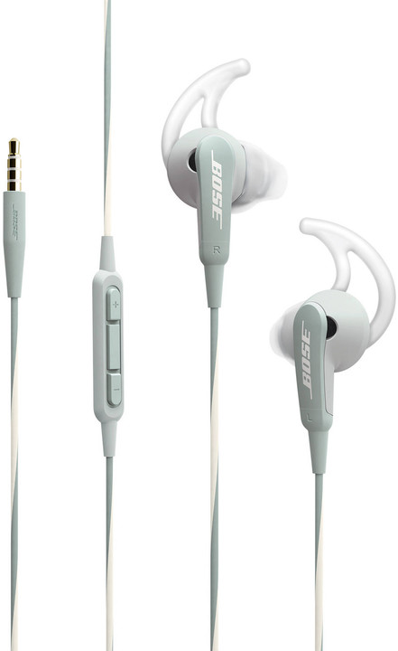 Bose SoundSport, Apple, stříbrná