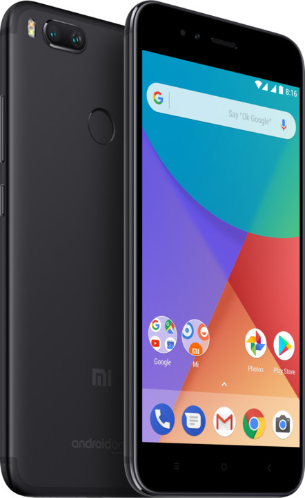 Xiaomi Mi A1 - 32GB, Global, černá