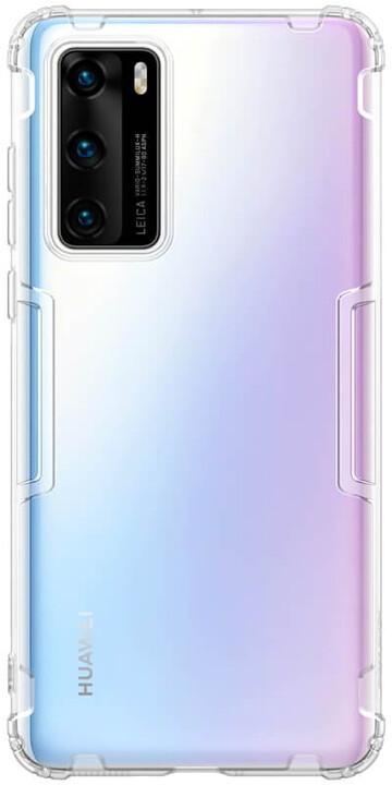Nillkin Nature TPU pouzdro pro Huawei P40, transparentní