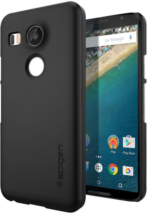 Spigen Thin Fit pouzdro pro Nexus 5X, černá
